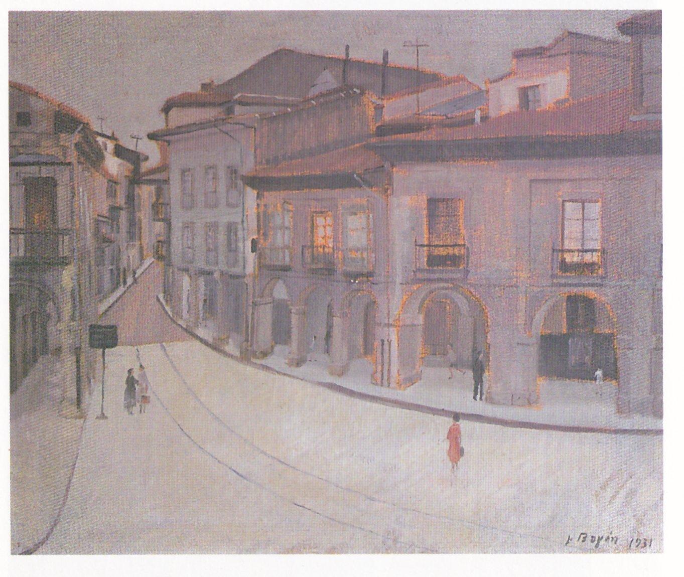 Luis bay n el primer pintor contempor neo de avil s los - Pintores en asturias ...