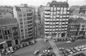 22.JOSE CUETO. javier granda1 300x195 José Cueto y su céntrica calle, que acaba en un bosque