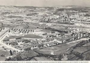 1.LLARANES Y LA RIA DE AVILES.plano general muy bueno. 1955.FOTO LIMPIA 300x211 El asombroso Llaranes por tierra, mar y aire