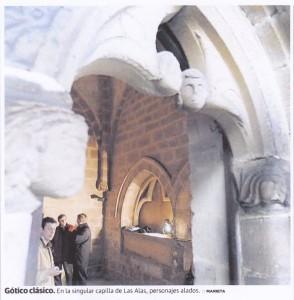 gotico.los alas 294x300 La sorprendente variedad del arte gótico en la Villa de Avilés