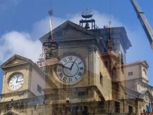 22.relojes en el parche. Collage 300x225 Relato de los relojes colocados en El Parche