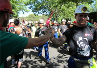 decimonovenodia Imágenes: la marcha del carbón, foto a foto