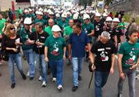 galeria etapa1 Imágenes: la marcha del carbón, foto a foto