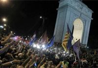 madridsevuelca Imágenes: la marcha del carbón, foto a foto