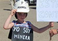 novena jornada Imágenes: la marcha del carbón, foto a foto