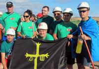 octava jornada Imágenes: la marcha del carbón, foto a foto