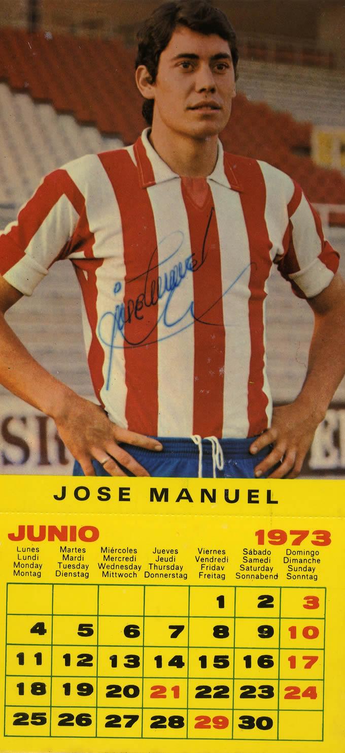 Calendario 1973.El Calendario Del Sporting Sporting De Gijon Fotos Historicas